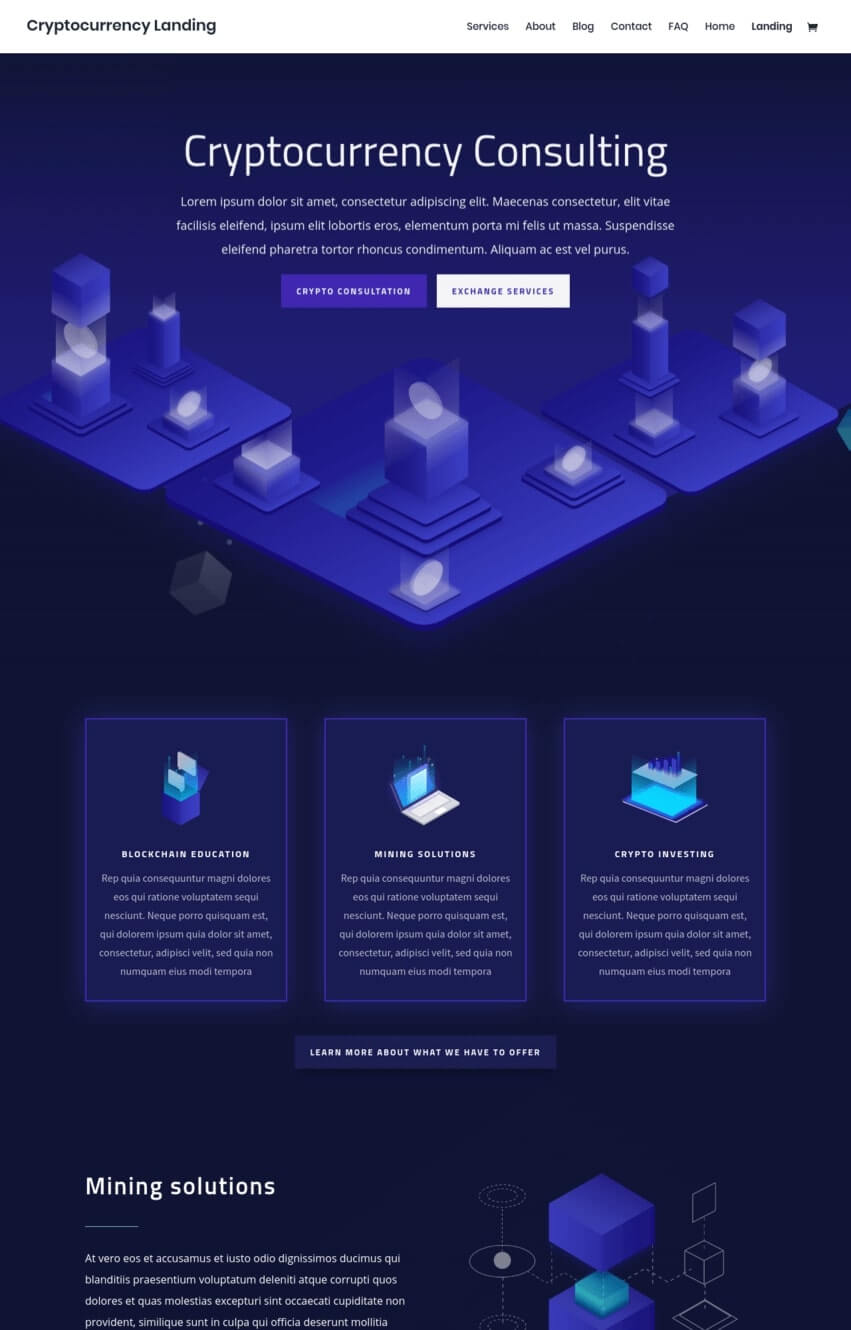 cryptocurrency-divi-theme-demo